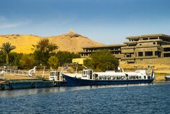 Free River Nile Near Aswan In Southern Egypt Royalty Free Stock Photos - 214952958