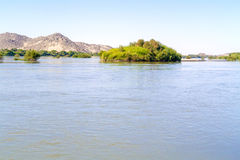 River Nile near Wadi Halfa in Sudan. Stock Photos