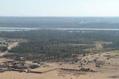 The river Nile in the Sahara desert in Sudan Royalty Free Stock Photography