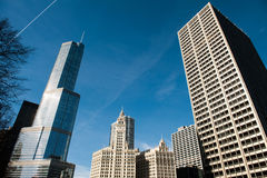 River North Skyline Royalty Free Stock Photo