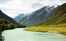 River in Norway Royalty Free Stock Photo