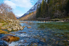 River in norway Royalty Free Stock Photography
