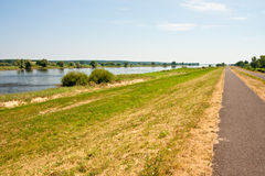 River Oder Stock Photo