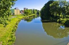 River, Olomouc, Czech Republic Stock Image