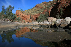 River - Ormiston Gorge, Australia Royalty Free Stock Photo