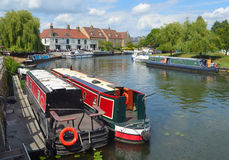 The river Ouse at Ely Royalty Free Stock Photography
