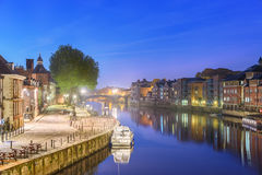 River Ouse, York , England Stock Images