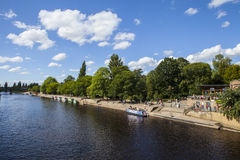 River Ouse in York Stock Images
