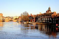 River Ouse, York. Stock Photography