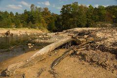 River outfall Stock Photography