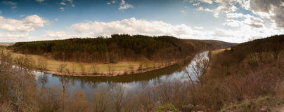 River panorama Stock Images
