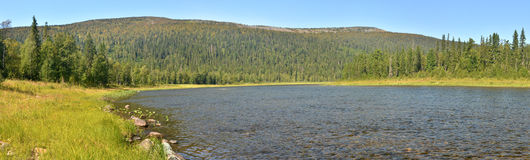 River panorama in the national Park Royalty Free Stock Photography