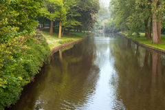 River in the park, Bruges Stock Image
