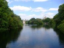 River park. In london near the buckingham palace Royalty Free Stock Photos