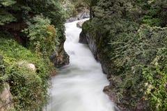 River Passer in a park of Merano Stock Photo