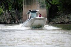River Patrol Stock Photo