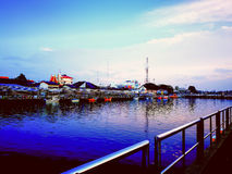 River. Pattani river thailand Stock Photography