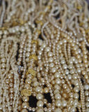 A river of pearls. Strong bokeh Royalty Free Stock Image
