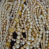 A river of pearls Royalty Free Stock Photos
