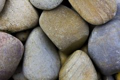River pebbles Stock Photos