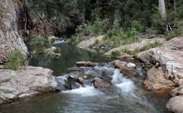 River. Photo image with River and waterfalls Royalty Free Stock Photo