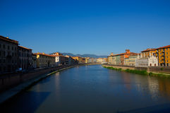 River in Pisa Royalty Free Stock Photography