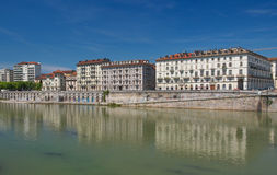 River Po Turin Royalty Free Stock Photo