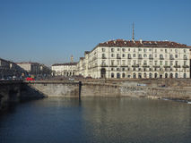 River Po in Turin Royalty Free Stock Photography