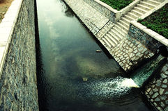 River pollution Royalty Free Stock Images