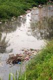 River pollution Stock Images