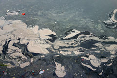 River pollution in China Stock Images