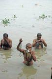 River Pollution In Kolkata. Stock Images