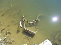 River pollution Stock Photos