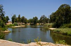 River pool. Yarkon River pool in tel Aviv,Israel Royalty Free Stock Photography