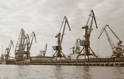 River port Royalty Free Stock Photo