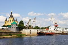 River port stock photography