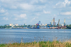 River port royalty free stock image