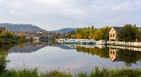 River port in Saverne, Alsase, France Royalty Free Stock Photos