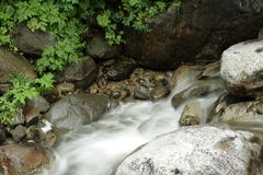 River in Pyrenees Stock Photo