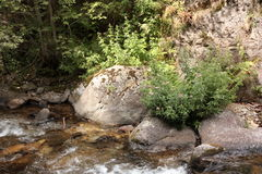 River in Pyrenees orientales, France Stock Photo