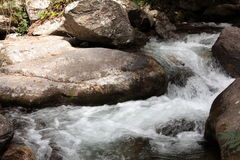 River in Pyrenees orientales, France Royalty Free Stock Images
