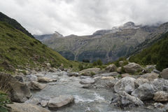 River in the Pyrenees, Spain Royalty Free Stock Photos