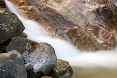 River in Pyrenees Royalty Free Stock Photos