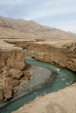 River of Qinghai-Tibet Plain  Stock Photo