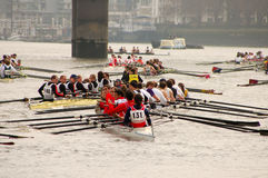River Race Royalty Free Stock Photos