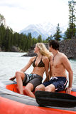 River Rafting Stock Images
