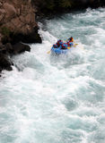 River Rafting. Chilko river british columbia/river rafting Royalty Free Stock Image