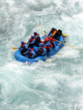 River Rafting. Chilko river british columbia/river rafting Stock Photography