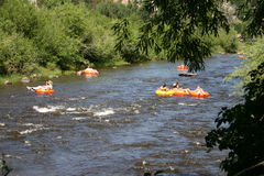 River Tubing Royalty Free Stock Image