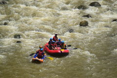 River rafting elo Magelang District Stock Photography